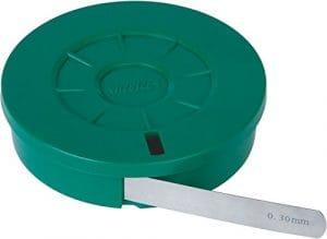 Insize 4621–03ruban de jauge d'épaisseur, épaisseur 0,03mm