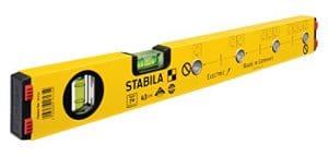 Niveau à bulles d'électricien Stabila TYPE 70 ELECTRIC longueur 43 cm