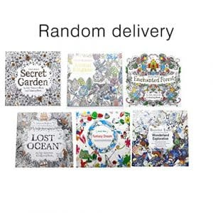 Creative School Office Book Secret Garden Hand Painted Graffiti Coloring Books Relieve Stress Painting Book
