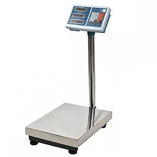 MonMobilierDesign Balance Industrielle électronique 100 kg écran LCD pese