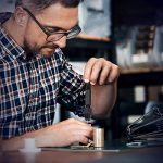 26 PCS Perceuse à Main – Gochange Mini Perceuse à Main Aluminum/Foret Fraise Twist de Foret Pour Modèle Noyer Ambre Olive Nut