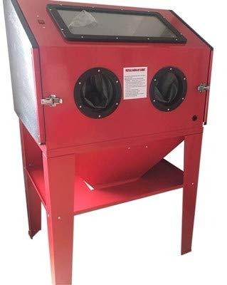 CGOLDENWALL Sablage SBC 350 Sablage vertical et entièrement fermé Armoire de sablage à air pour enlever la rouille/décontamination pratique