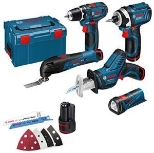 Bosch–Kit d'outils 10,8V-LI (5pcs)