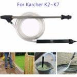 Kit de sablage et de sablage au jet de sable et de sablage humide pour nettoyeur haute pression pour Karcher K2 ~ K7