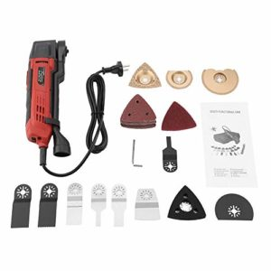 Découpeur-Ponceur, 37 PCS 300W 230V Multi Tool Sander Quick Change System Accessories