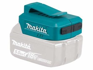 Makita DEBADP05 Adaptateur de batterie avec 2 prises USB (remplace DEAADP05)