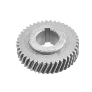 42-dents centrage de fente gris foncé engrenage métallique pour machine électrique 1040