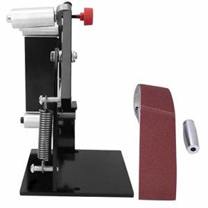 Accessoires de ponceuse à bande de 50 mm de largeur Machine de polissage circulaire à poignée portable(M10)