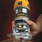 Affleureuse Dewalt D26200, pince Ø 8 mm, 900W