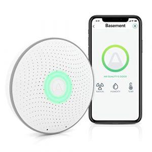 Airthings Wave 2e Génération – détecteur de radon intelligent