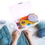 Amazingdeal365Aiguilles à tricoter, 22pcs Multicolore Aluminium et argent Crochets