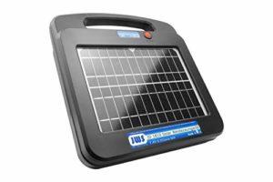 Appareil de clôture électrique solaire 12 V 12 V