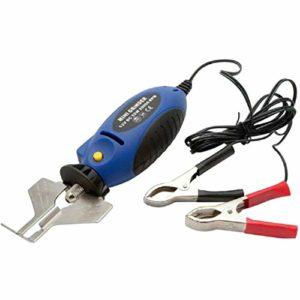 AYUN 1set électrique extérieur à Main Grinder Chainsaw Sharpener à Main Scie à chaîne Grinder 85cmx8cmx5cm 12V chaîne Grinder Saw