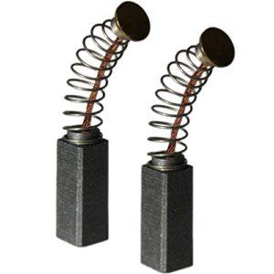 Balais de charbon moteur charbons charbons Bosch exenter Ponceuse 5x 8x 15PEX 12A/pex 12AE