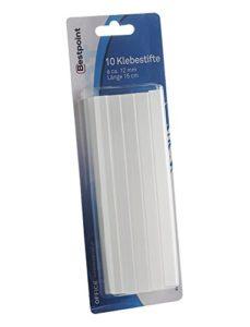 Bâtonnets de colle chaud Colle, klebepatronen–Kit de réparation, 10bâtons de colle, longueur 15cm, diamètre 11mm