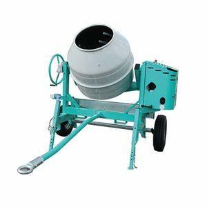 Bétonnière éléctrique tractable cuve 235 litres 1 kW IMER