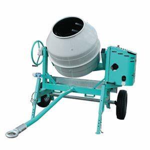 Bétonnière éléctrique tractable cuve 345 litres 1,4 kW IMER