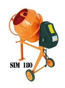 Bétonnière SIM180 180L 800W 230V mixer cement construction