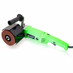 bituxx® SATIN iermaschine Ponceuse Polisseuse Ponceuse Machine Brosse 1200W 1000–3000u/min
