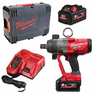 Boulonneuse à chocs MILWAUKEE M18 FUEL ONEFHIWF1-802X – 2 batteries 18V 8Ah – chargeur 4933459733