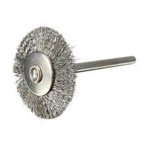 Brosse Metallique – TOOGOO(R)Brosse Metallique, brosses pour Perceuse en acier inoxydable brosse ronde 25mm Pour Rotatif Outil