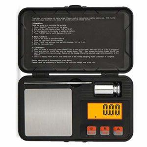 Cavis Haute PréCision NuméRique Portable Sterling Or Balance à Bijoux en Argent Compteur D'éChelles Outils de Brucelles D'éQuilibrage 200X0.01G