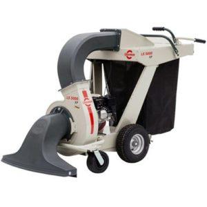 CRAMER LS5000XP – Aspirateur de feuilles mortes Modèle autotracté hydrostatique – Moteur Honda GX 160 – 160 cc – Largeur de travail 80 cm – Sac 180 litres