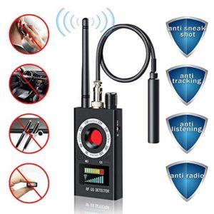 Détecteur de Signal Anti-Espion RF sans Fil pour Appareil Photo caché Objectif Laser GSM, Appareil d'écoute Localisateur Radar Radio Scanner Signal Alarme sans Fil
