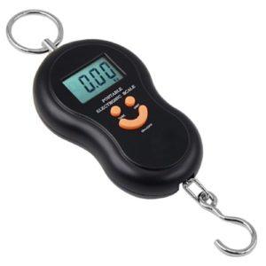 DIGIFLEX Balance digitale à crochet pour la pêche, les valises, les colis etc. jusqu'à 40 kg.