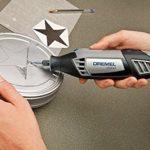 Dremel 9903 Fraise en Carbure de Tungstène – Accessoire pour Sculpter et Graver le Métal et le Bois avec Outils Rotatifs Multifonctions, Diamètre 3,2mm
