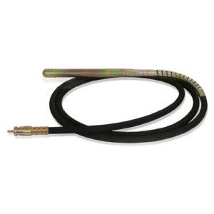 EBERTH Aiguille vibrante de rechange pour vibrateur de béton de 6m – 45 mm