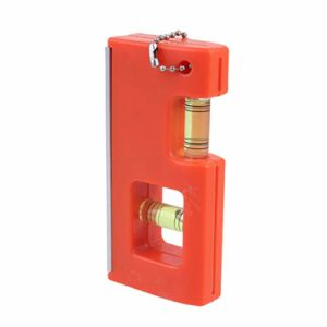 Exceart Règle de Niveau Horizontale Portable Haute Précision Niveau à Bulle Multifonctionnel Nivellement Outils de Mesure pour Magasin à Domicile