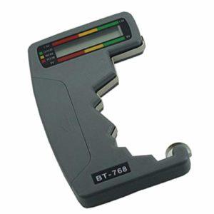 F Fityle Testeur De Tension De Batterie Universel Pour AA AAA C D 9V Check Cell Checker Volt LCD