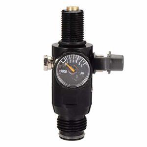 Facile à installer 4500psi Paintball haut du réservoir d'air comprimé Régulateur HPA vanne de sortie 2200psi