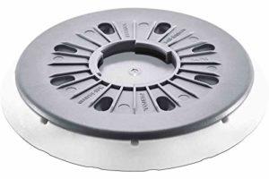 Festool 202462Dia ST-STF D150/Mj2-fx-w-ht FastFix Patin de ponçage, gris acier