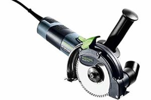Festool 574806 Freehand Système de coupe DSC-AG 125 Fh-plus Go, 240 V, Multicolore