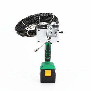 Filetage de câble d'électricien automatique électrique de tirage de tuyau enfilage fils électriques enfilage tiroir tirette