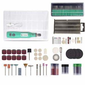 Fonction Pratique Perceuse sans Fil Outils électriques Mini Drill meuler Set 3.6V sans Fil Mini Gravure Stylo for Outils Dremel WSL jiajudiy (Color : Set 7)