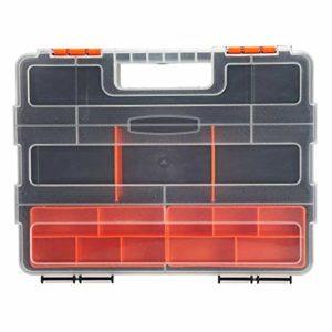 Fournitures de stockage Vis Boîte de rangement poignée Accessoires Porte Protable poignée en plastique Outils de travail