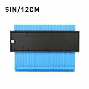 Goodtimera Outil de découpe pour profilé 25,4 cm, Bleu, 5inch/12cm