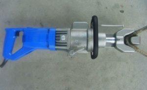 Gowe Cintreuse hydraulique et cintrée pour barres d'armature à main 16 mm