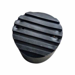 GreceMonday Échelle télescopique ronde Pied couverture multi-fonction pliante Ladder Fan-pied en forme de revêtement antidérapant Tapis EN137 échelle universelle (Noir)