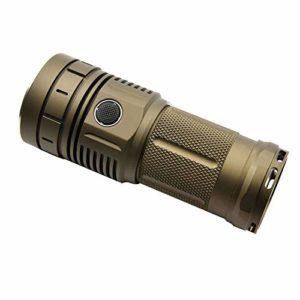 HaikeLite Hacker HK04 XHP50 XPL SST40 Lampe Torche 15 000 lumens