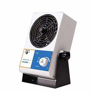 Hanchen Souffleur d'air ionisant 45-110 CFM Ioniseur antistatique industriel Éliminateur de statique pour production électronique et réparation
