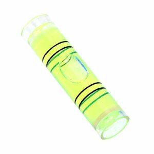 Haute précision pratique pour boussole cadre photo acrylique outil d'installation niveau bulle liquide indicateur de niveau instruments de mesure de niveau règle horizontale – Vert
