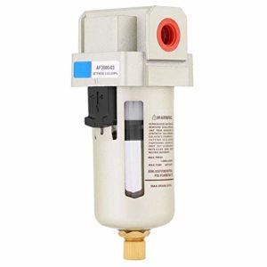 Hyuduo AF3000-03 G3/8 » Compresseur d'air comprimé en Ligne Séparateur d'air de Filtre à Eau pour humidité pour Les impuretés de l'eau Filterring
