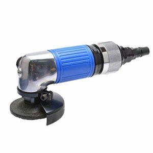 HYY-AA Portable Practica pneumatique 2 pouces pneumatique meuleuse d'angle, machine de polissage à main, 50 mm meuleuses pneumatiques Outils industriels