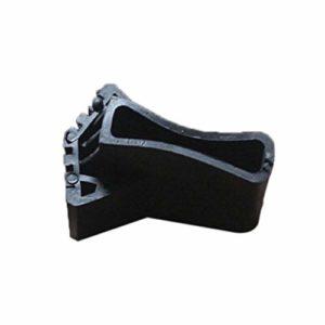 IBISHITAOXUNBAIHUOD Couvre-pieds rond pliable en forme d'éventail Tapis antidérapant