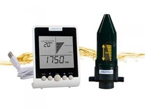 Jauge cuve à fioul sans fil et moniteur digital pour les réservoirs d'huile de chauffage avec émetteur radio – EcoMeter