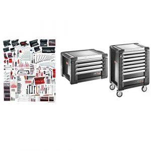 JET8.M160A Sélection maintenance industrielle 528 outils plus servante 8 tiroirs et coffre